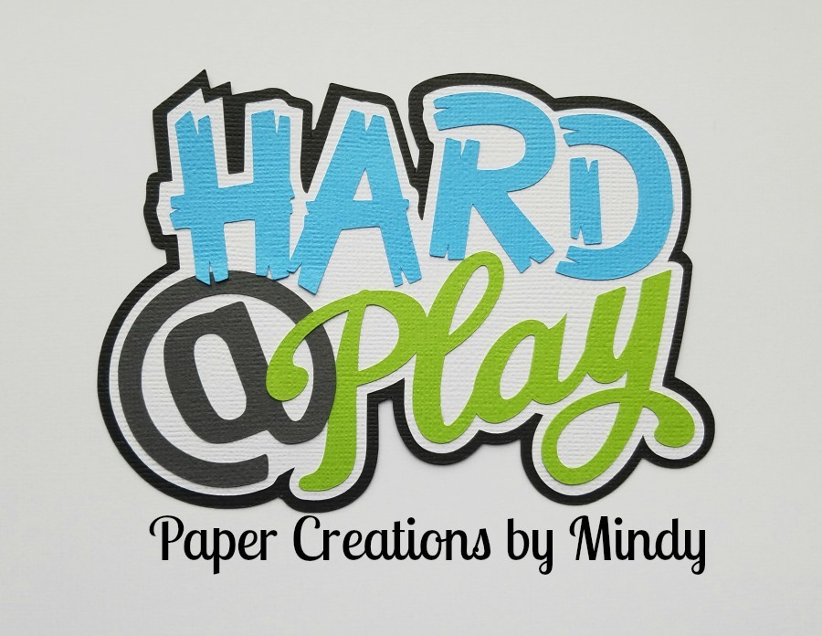 Hard @ Play Paper Piecing