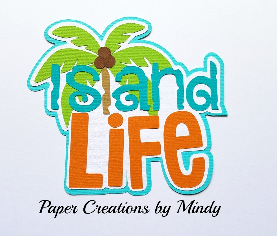 Island Life TBD Title Paper Piecing