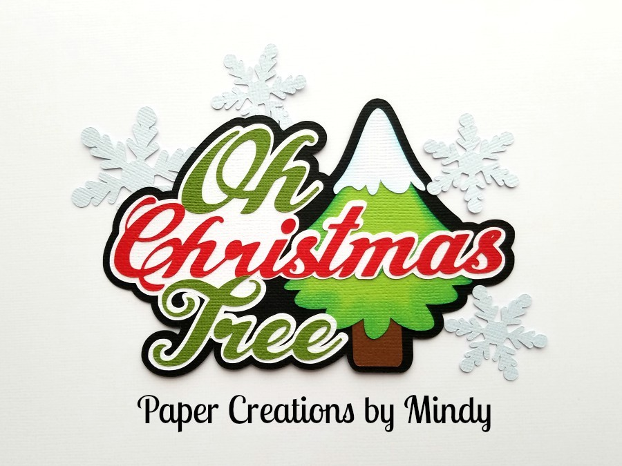 Oh Christmas Tree ccd Paper Piecing