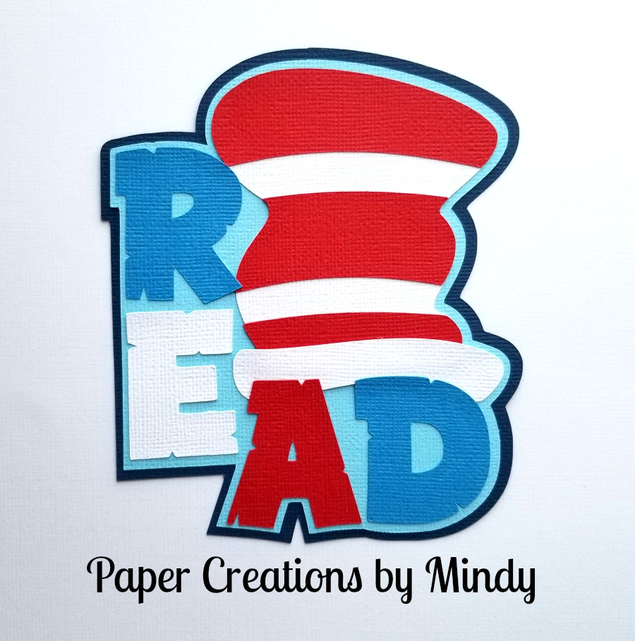 Cat In The Hat Read Title Paper Piecing