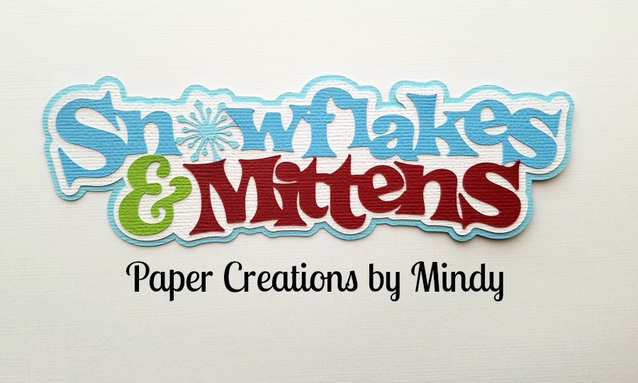 Snowflakes and Mittens Paper Piecing