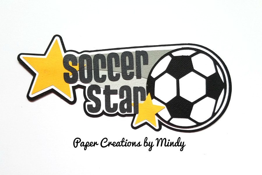 Soccer Star Paper Piecing