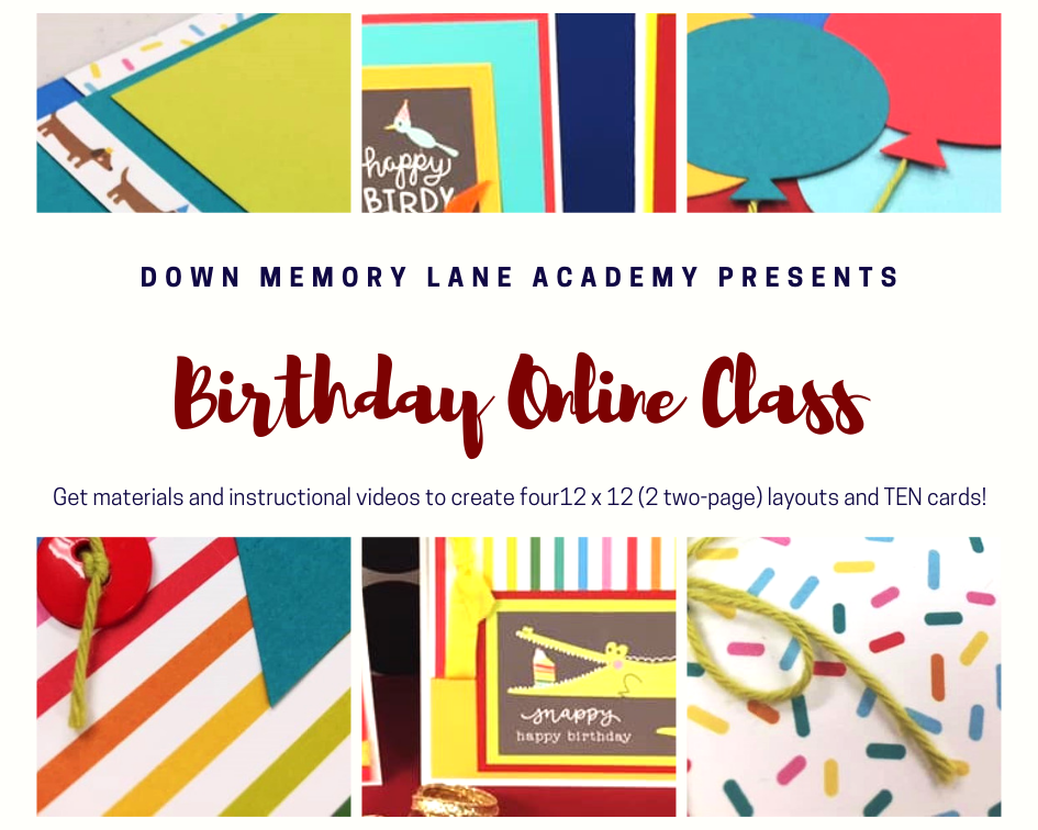 Happy Birthday Online Class