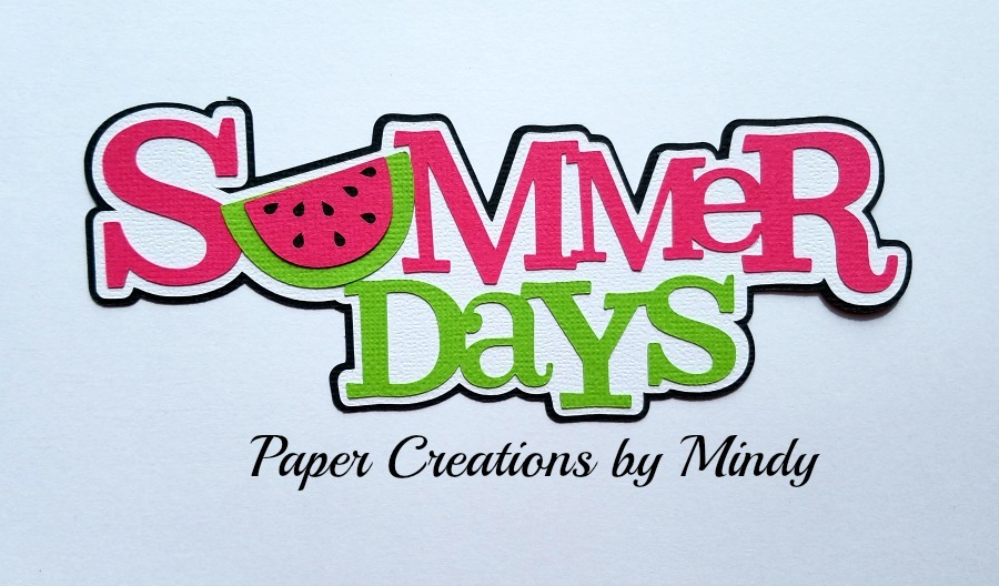 Summer Days Watermelon Paper Piecing
