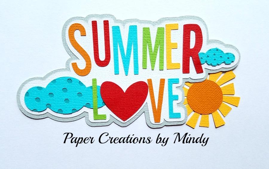 Summer Love Colors Paper Piecing