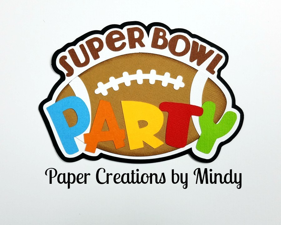 Super Bowl Party TBD Paper Piecing