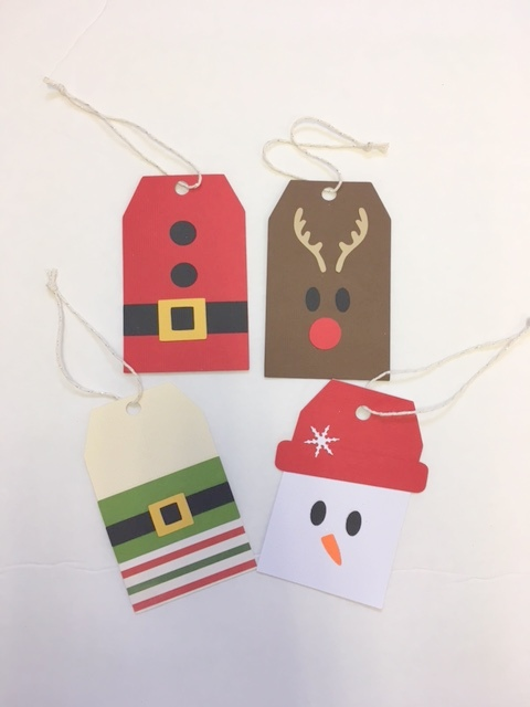 Holiday Friends Tag Kit
