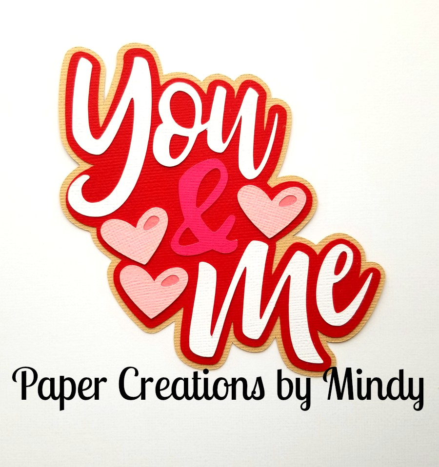 You and Me mkc Title Paper Piecing