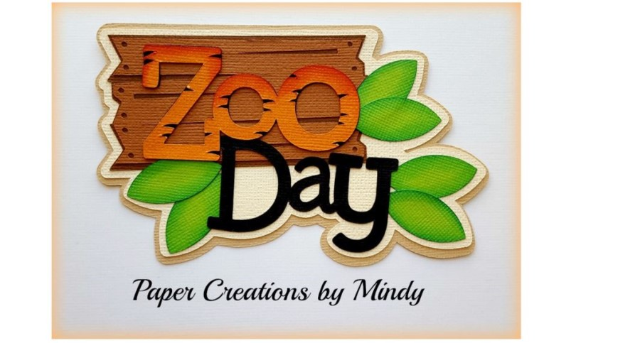 Zoo Day Paper Piecing